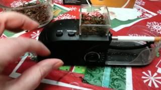 Nihao Cigarette Rolling Machine Electric  Cigarette Injector Maker Tobacco Roller