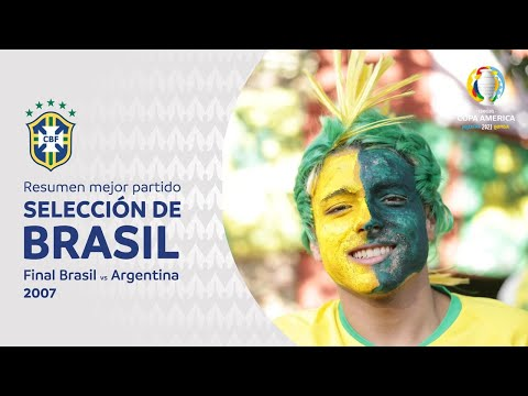 Brasil - Mejor partido - Final 2007 vs Argentina