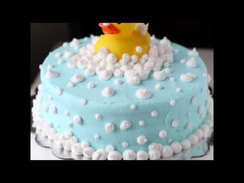 Rubber Ducky Baby Shower Cake Youtube