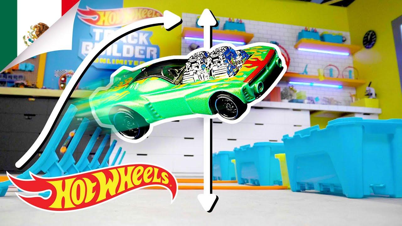¿Qué tan lejos puede volar un Hot Wheels? | Labs Unlimited | Hot Wheels Español