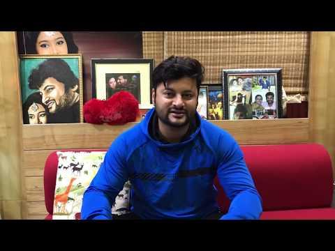 Superstar Anubhav Mohanty walking again😎