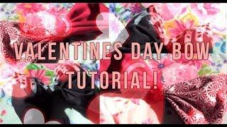 Oddish Fashion: Kawaii Valentines Day Bow Tutorial!