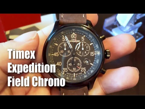 e4a0e81a8239 Timex T499059J Expedition Field Chronograph Watch - YouTube