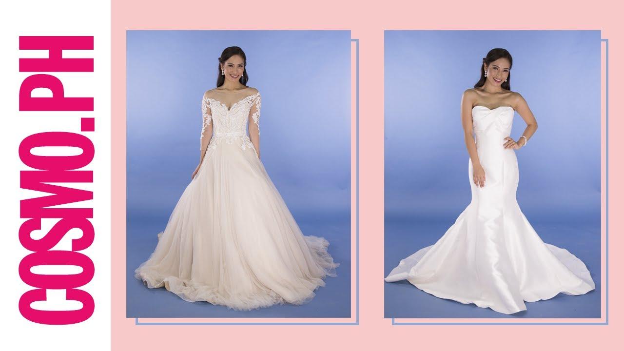 RTW Designer Wedding Dresses - YouTube