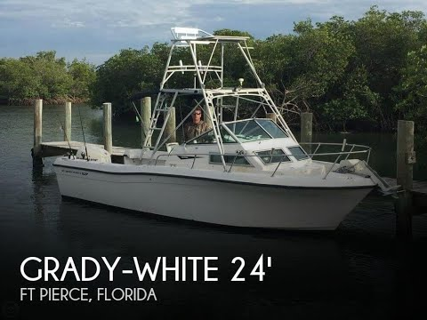 Used 1987 Grady-White Offshore 240 for sale in Ft Pierce, Florida