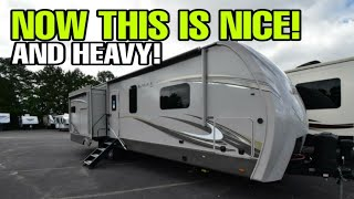 HUGE, HEAVY and TALL Luxury Travel Trailer from Jayco!