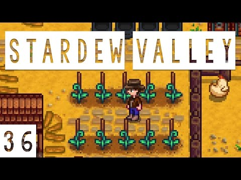 Stardew Valley Gameplay - #36 - Beans! - Let's Play