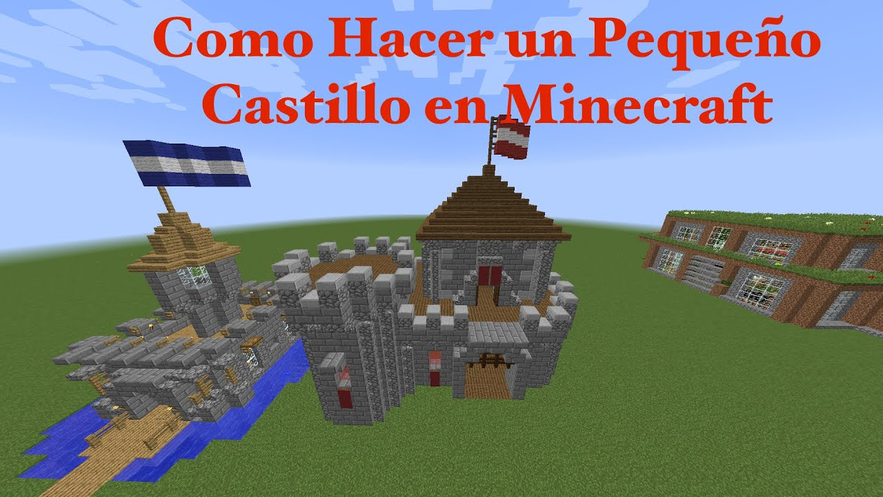 Como hacer un peque o castillo en minecraft pt4 youtube for Como hacer un despacho en casa