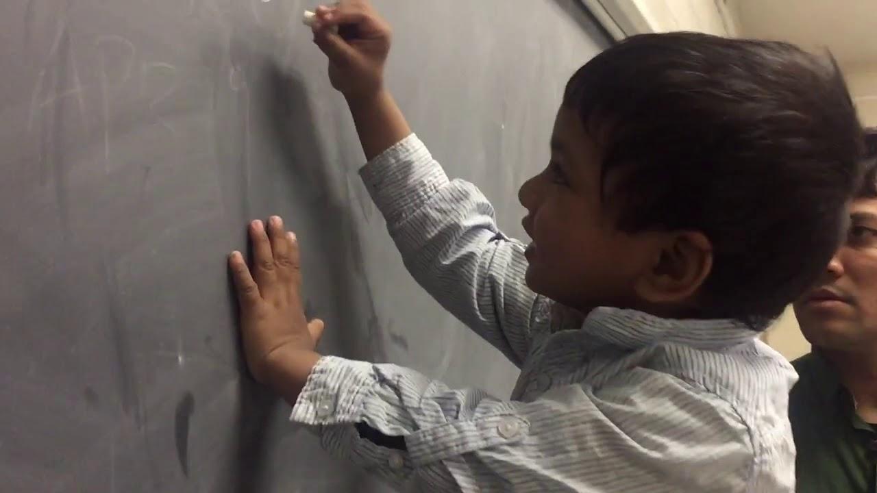 9 month old Quantum Mechanics Genius