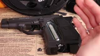 как ПРАВИЛЬНО установить баллон в пневматический пистолет?
