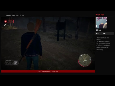 SOLO MAN Friday the 13th the game Livestream