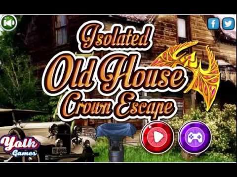 Isolated old house crown escape walkthrough youtube for Classic house walkthrough
