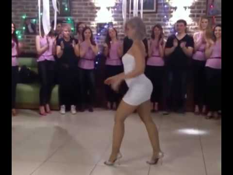 Sexy Lady Dancing Wow
