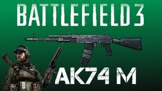 BF3 -- The Best Post Patch Setup! [BF3 AK74M PC Gameplay]