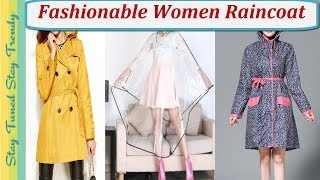 20 Fashionable Women Raincoat(Transparent/Poncho/jacket) Style | Ladies RainWear | रेन कोएट्स डिज़ाइन