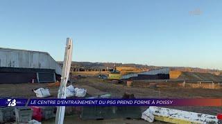 Yvelines | Le Centre d'entraînement du PSG prend forme à Poissy
