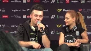 ESCKAZ.com in Vienna: Maraaya (Slovenia) meet & greet