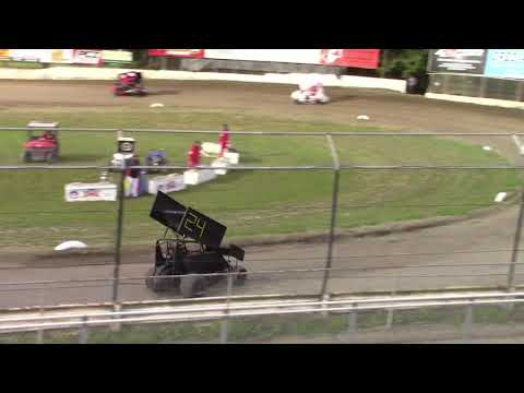 May 22, 2020. - dirt track racing video image