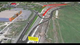 Моделирование транспортных потоков  Южный подъезд к Ростову