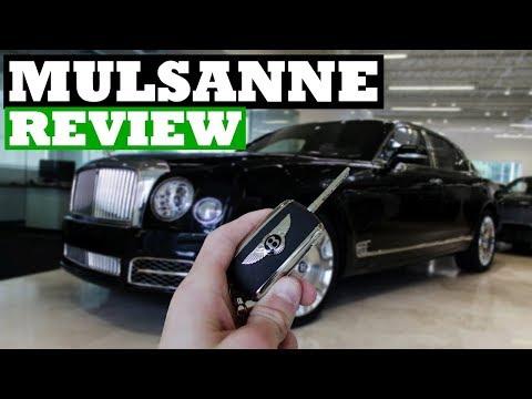 Bentley Mulsanne Review- Better Than The Rolls Royce Phantom?