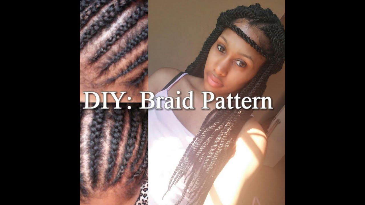 TUTORIAL DIY Braid Pattern For Crochet Styles YouTube - Diy braid pattern