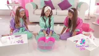 ameurop sweet care spa tv ad nice feet spanish 2015 30 sec Video