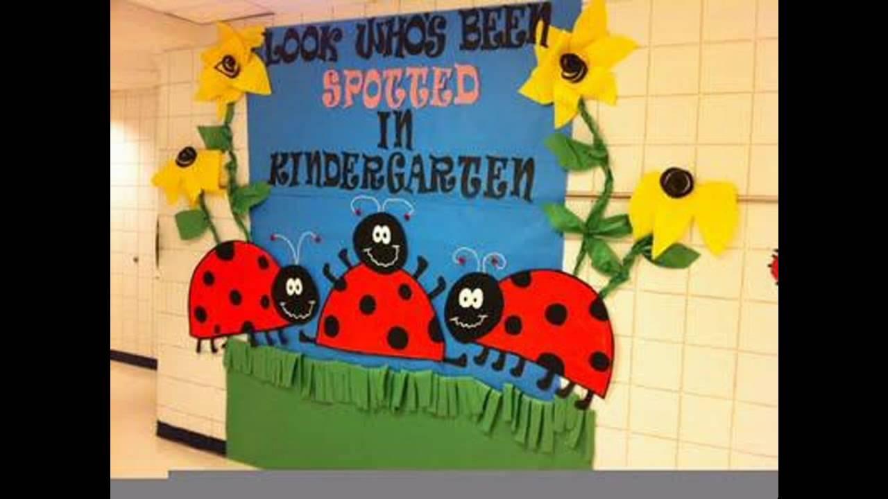 Eaasy Spring Classroom Door Decorations Youtube