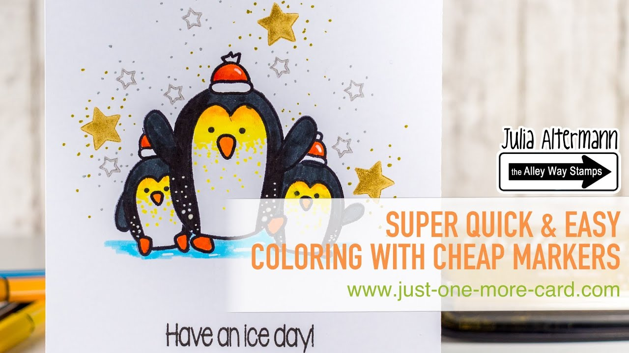 Very Easy Coloring with Cheap Markers - YouTube
