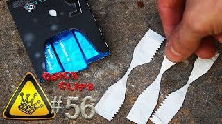 QC#56 - Gum Wrapper Fire Starter