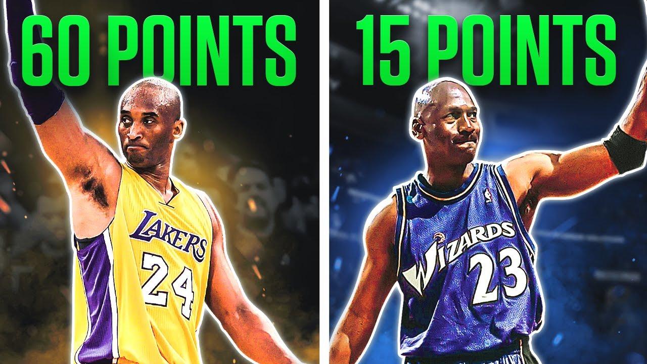 The LAST Games of NBA Legends