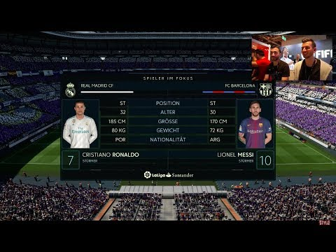FIFA 18: Pro vs Pro - Real Madrid vs FC Barcelona El Clasico
