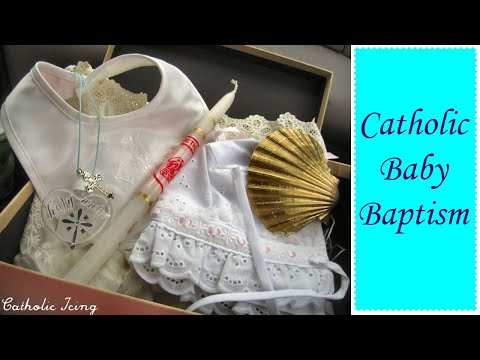 Catholic Baby Baptism