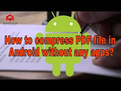 How To Compress PDF File In Android Without Any Apps....🔥🔥🔥🔥🔥🔥🔥