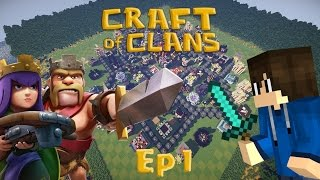 CLASH OF CLANS IN MINECRAFT - CRAFT OF CLANS EP.1: TANTE GEMME