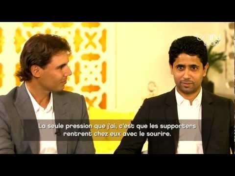 beIN SPORT : Nadal - Nasser Al-Khelaïfi : L\'interview