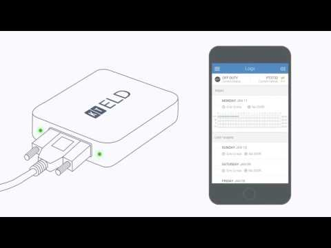 Connect your mobile device to your vehicle's ELD