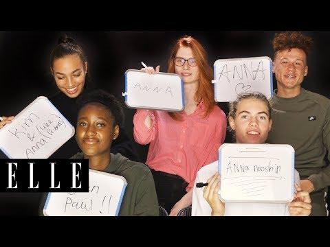 HNTM kandidaten spelen Wie Is Het | ELLE