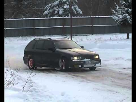 bmw e36 325 tds touring snow drift youtube. Black Bedroom Furniture Sets. Home Design Ideas
