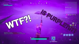 *WHAT HAPPENS WHEN YOU EXIT THE FORTNITE MAP?! *BUGGY TEXTURE?!? *