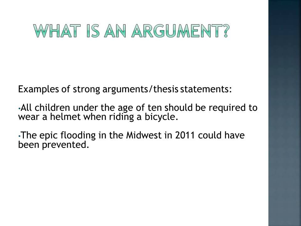 flood theory thesis paper