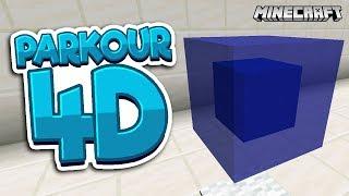 CZTEROWYMIAROWY PARKOUR! | Mapa Minecraft 4D od Widzów