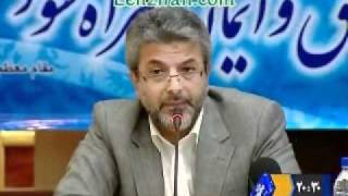 Minister of science angry of a TV program blaming his ministry of non- execution of Khamenei order