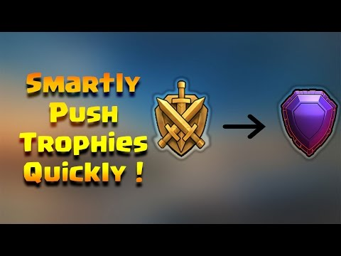 Smart ways to Push Trophies Quickly in Clash of Clans...Check out ! [Hindi]
