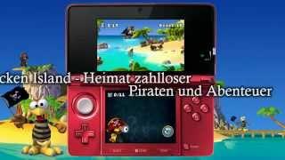 [Trailer] Moorhuhn Piraten 3D/Crazy Chicken Pirates 3D (eShop/DSiWare)