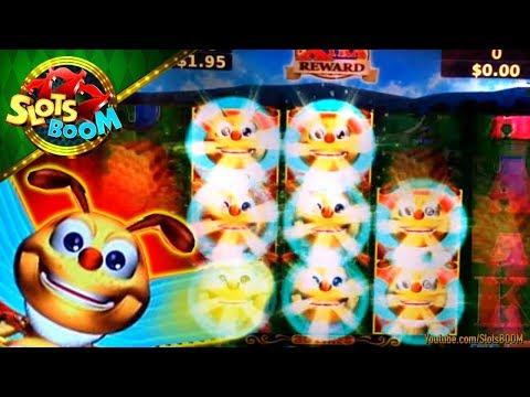 Lucky Honeycomb Bonus On  Titan 360 Konami Video Slot