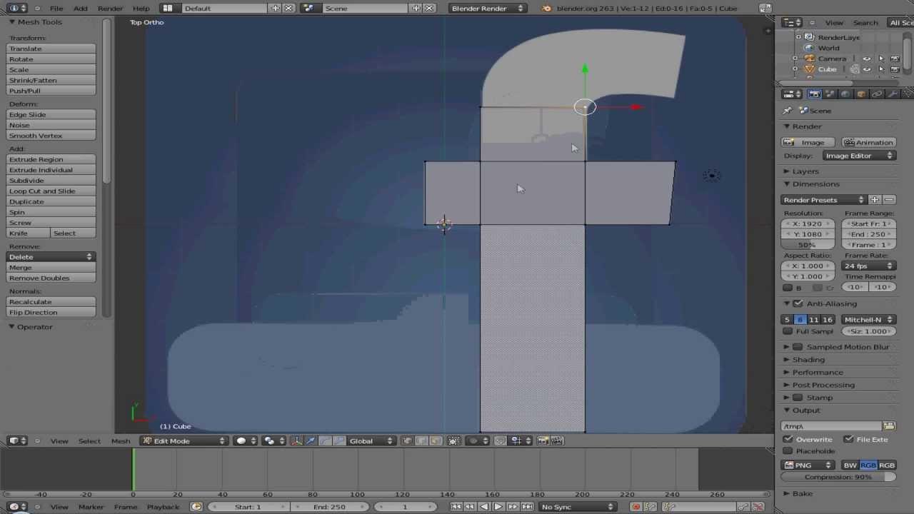 blender 3d tutorials facebook logo youtube