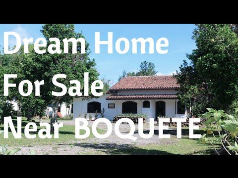 One of the kind HOME for sale in Potrerillos near BOQUETE, Panama. Prestige Panama Realty. 6981.5000