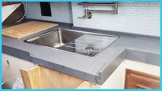 66. DIY Boat Countertop (Phase 2) | Learning the Lines - DIY Sailing