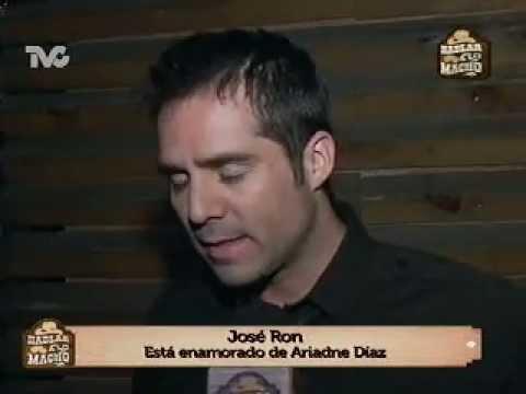 José Ron y su Relación con Ariadne Díaz (HM) - YouTube