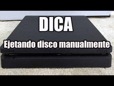 como Ejetar disco PS4 slim manualmente
